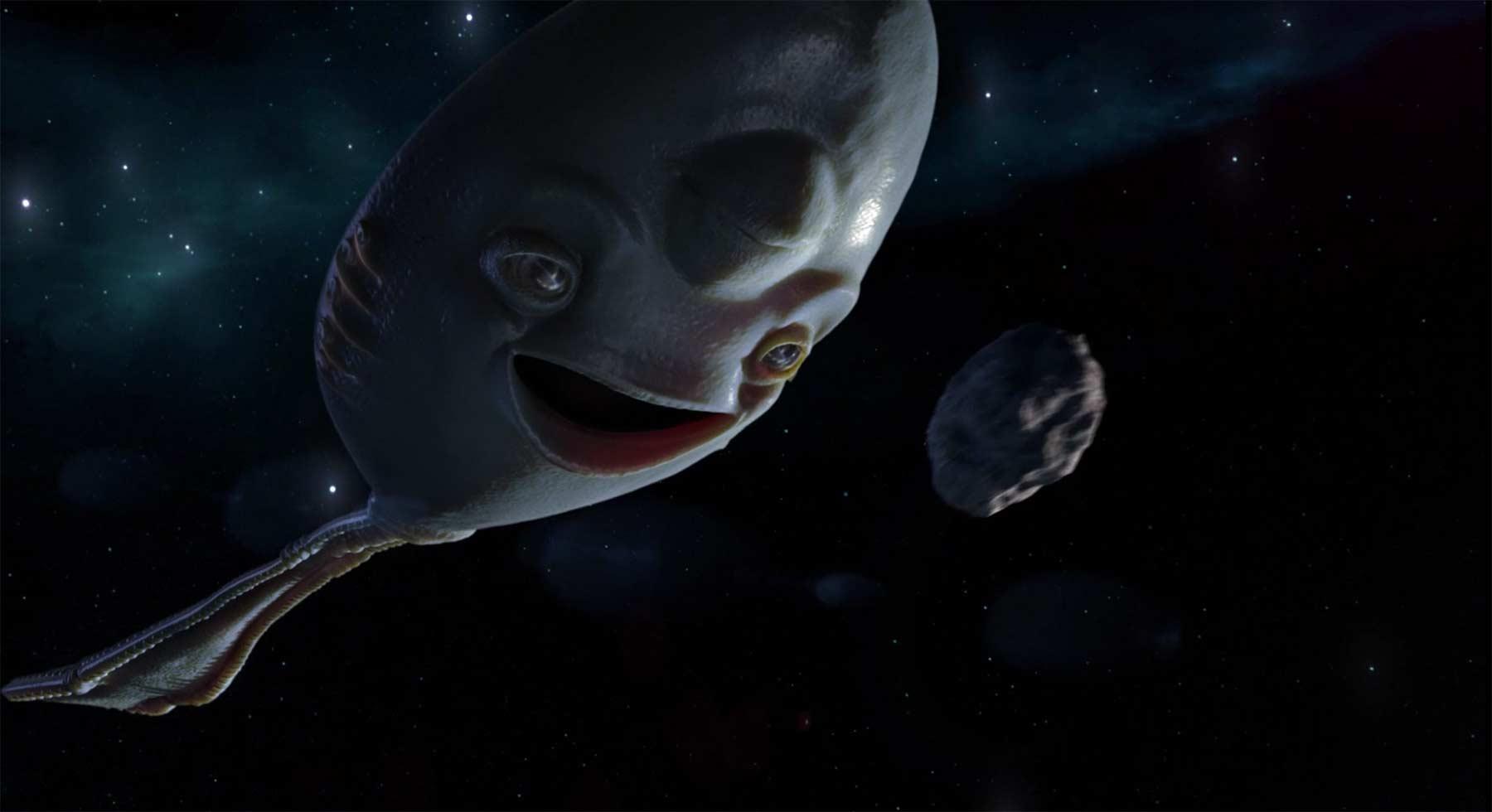 Ein Löffel-Alien klaut all unsere Löffel
