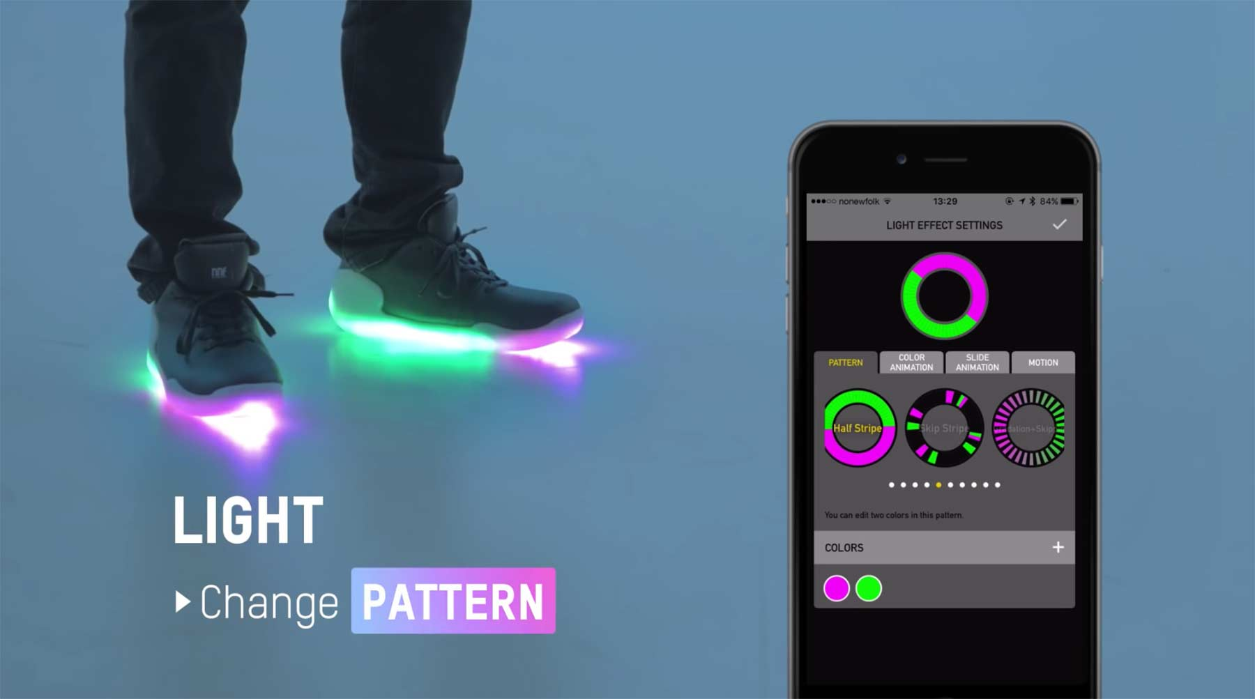 Diese smarten Schuhe leuchten und klingen, wie du willst