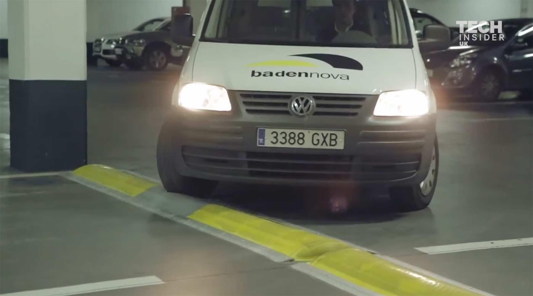 Diese Bremsschweller werden fester bei schnelleren Fahrzeugen