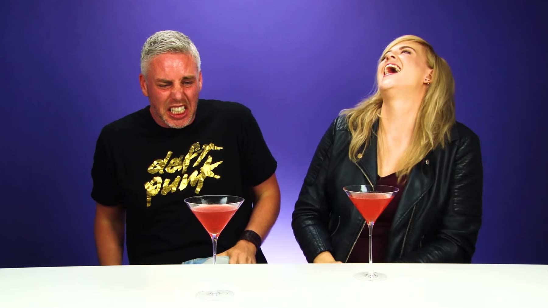 Iren probieren die stärksten Cocktails der Welt