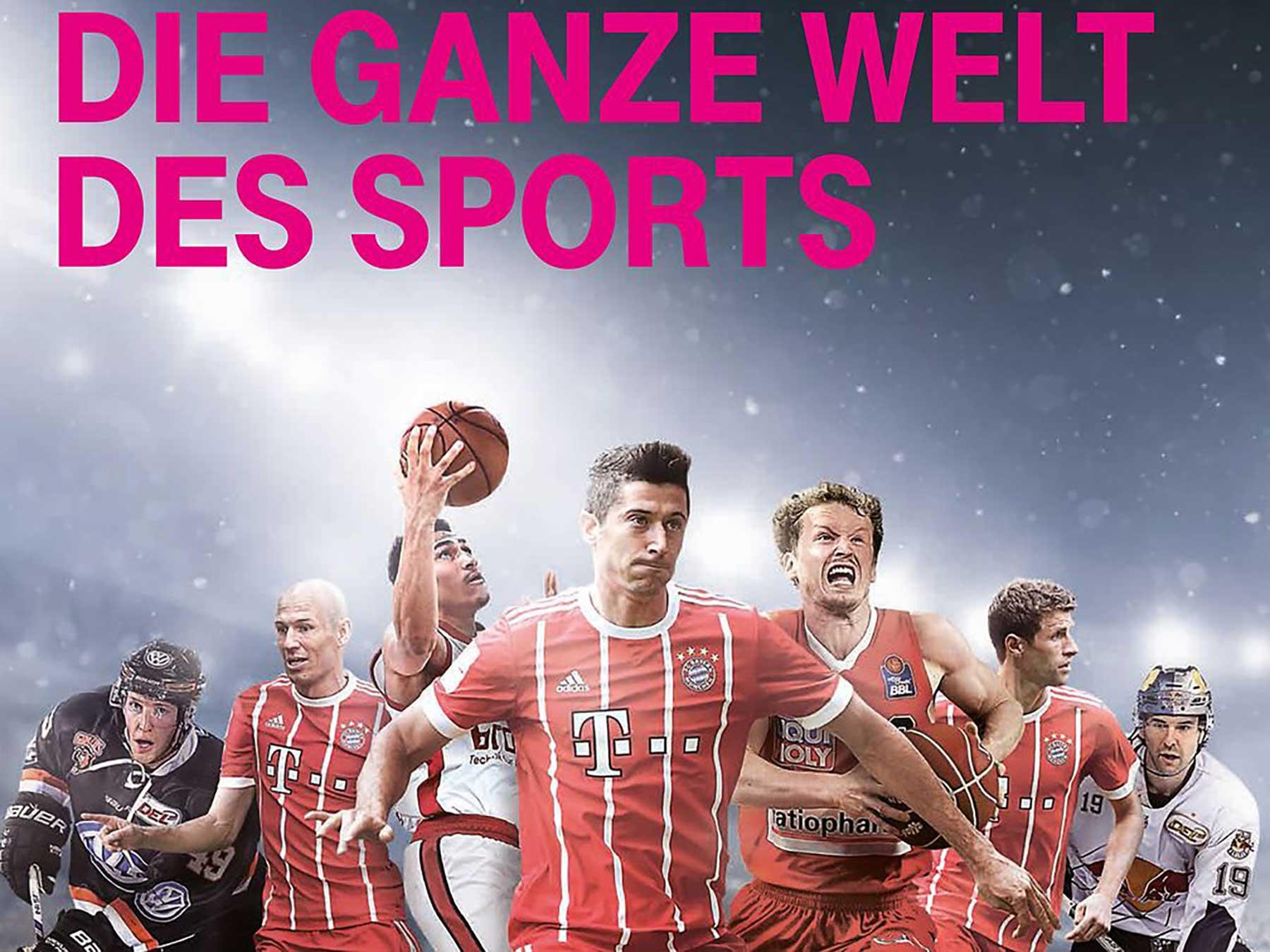 Bundesliga und mehr über die Telekom schauen