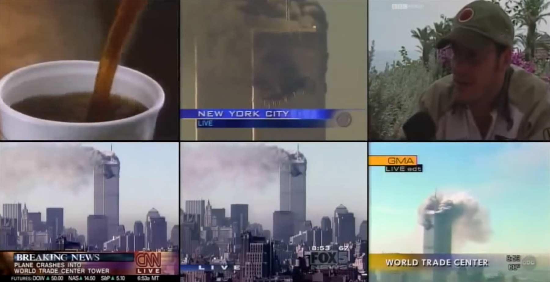 Ein Blick aufs US-Fernsehen als 9/11 passierte 911