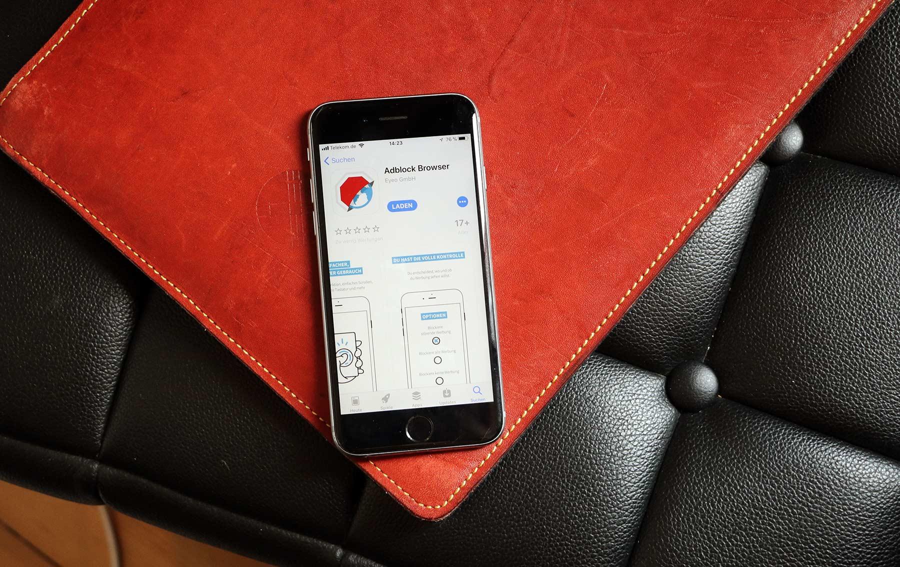 Werbefrei mobil surfen mit dem Adblock Browser 2.0