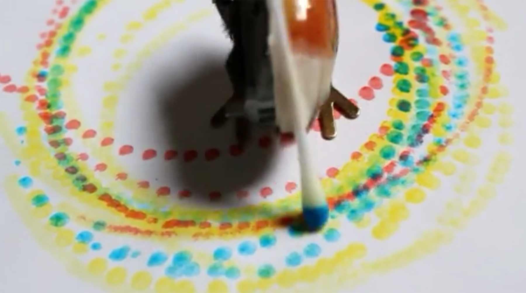 Wenn mechanische Objekte malen