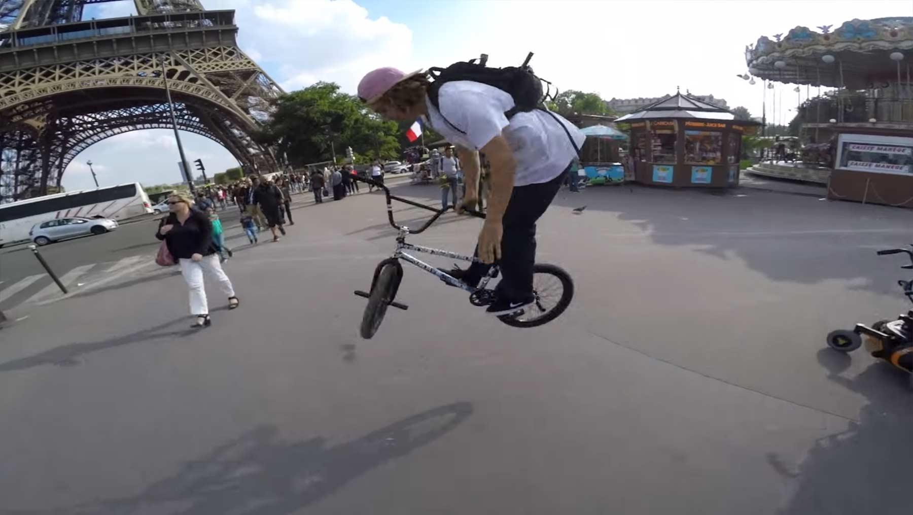 Europarundreise auf dem BMX BMX-Europa-tour