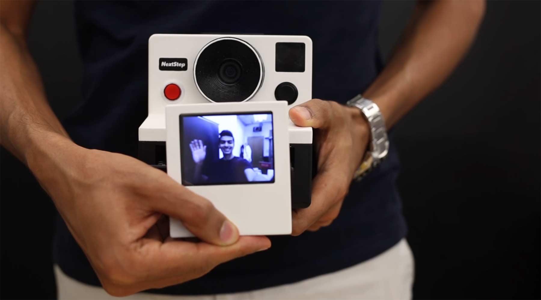 Diese Polaroidkamera spuckt GIFs aus