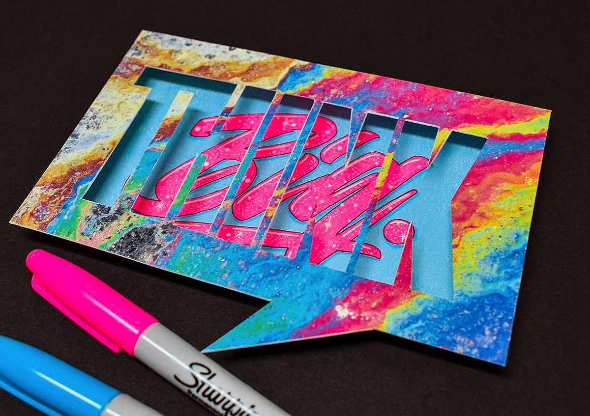 Cooles Lettering von Juantastico Juantastico-typografie_01
