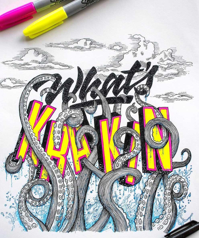 Cooles Lettering von Juantastico Juantastico-typografie_10