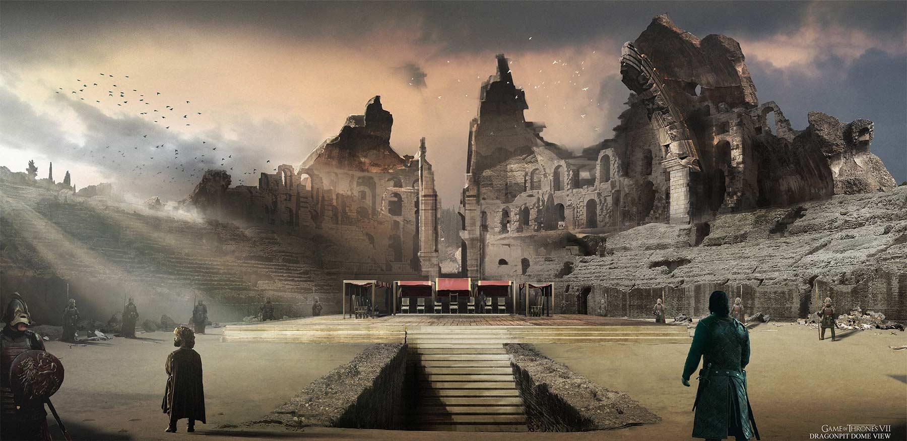 Game of Thrones Staffel 7 Concept Art Kieran-Belshaw-game-of-thrones-concept-art_09