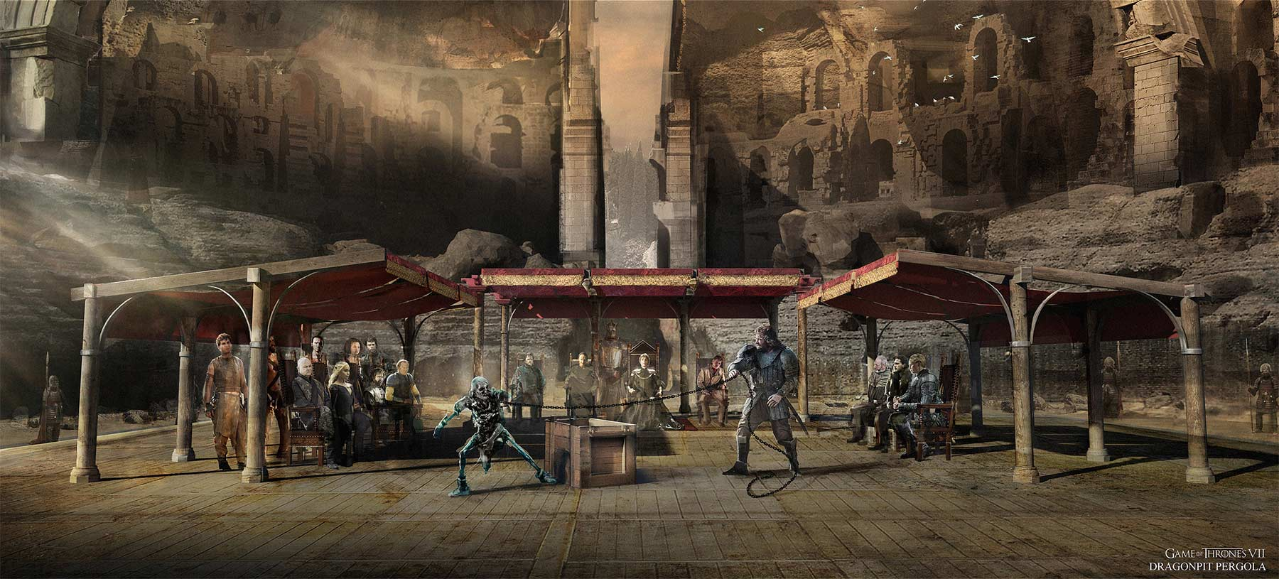 Game of Thrones Staffel 7 Concept Art Kieran-Belshaw-game-of-thrones-concept-art_11