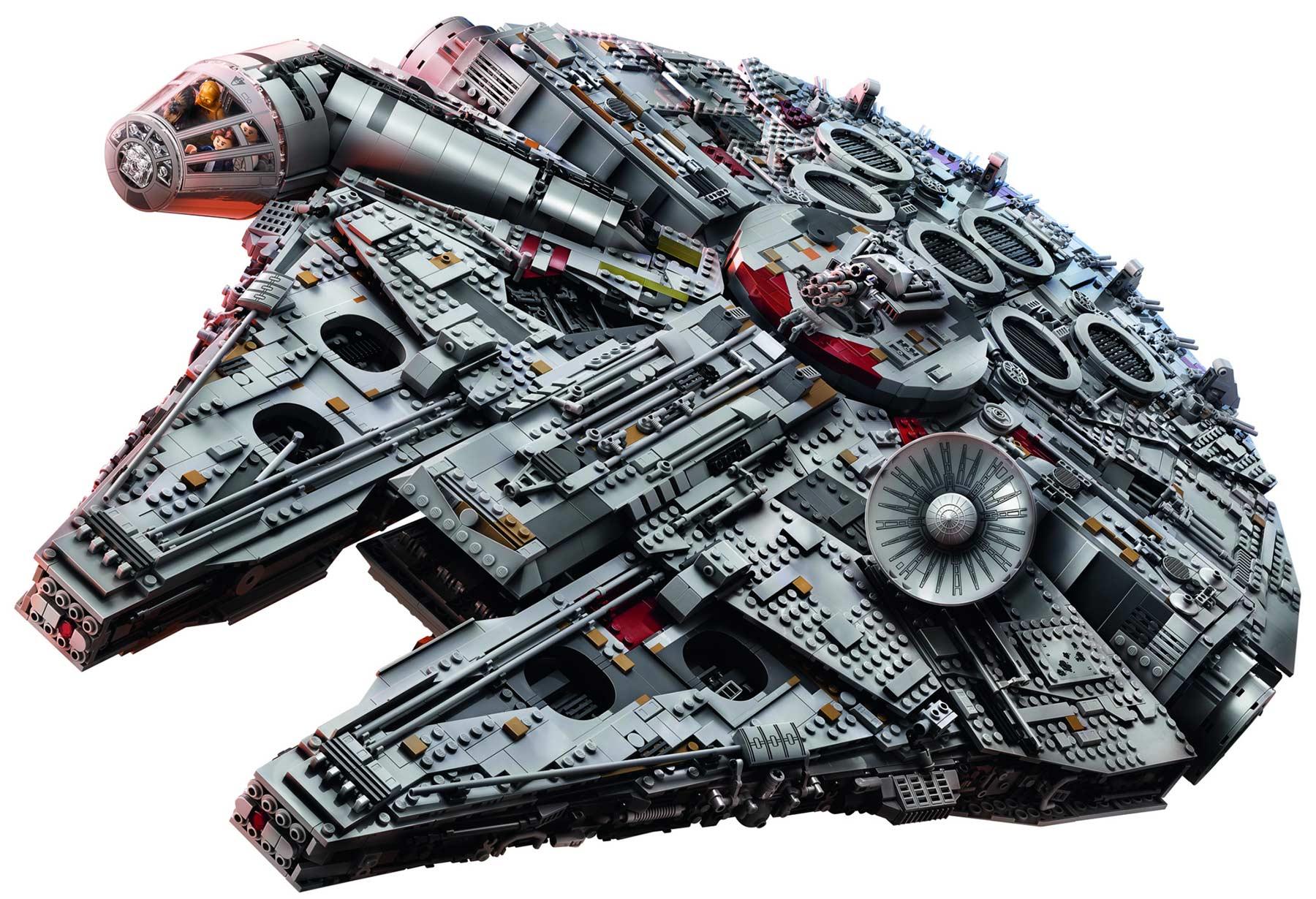 Dieser neue LEGO-Millennium Falcon kommt mit 7.541 Steinen