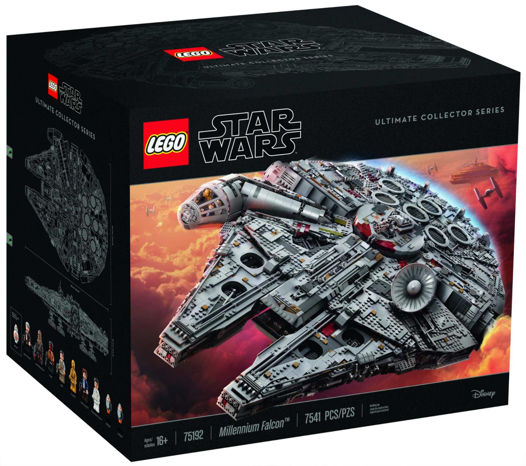 Dieser neue LEGO-Millennium Falcon kommt mit 7.541 Steinen LEGO-Millennium-Falcon-neu_02