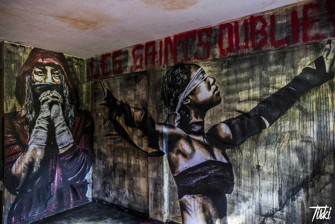 100 Street Artists haben dieses Schloss verschönert LaBel-Valette-Festival_03