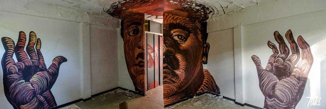 100 Street Artists haben dieses Schloss verschönert LaBel-Valette-Festival_05