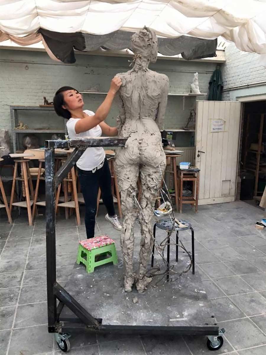 Fließend-weiche Skulpturen von Luo Li Rong Luo-Li-Rong_06