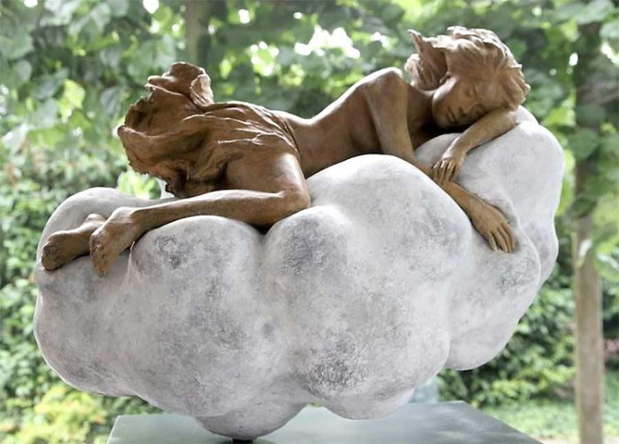 Fließend-weiche Skulpturen von Luo Li Rong Luo-Li-Rong_09