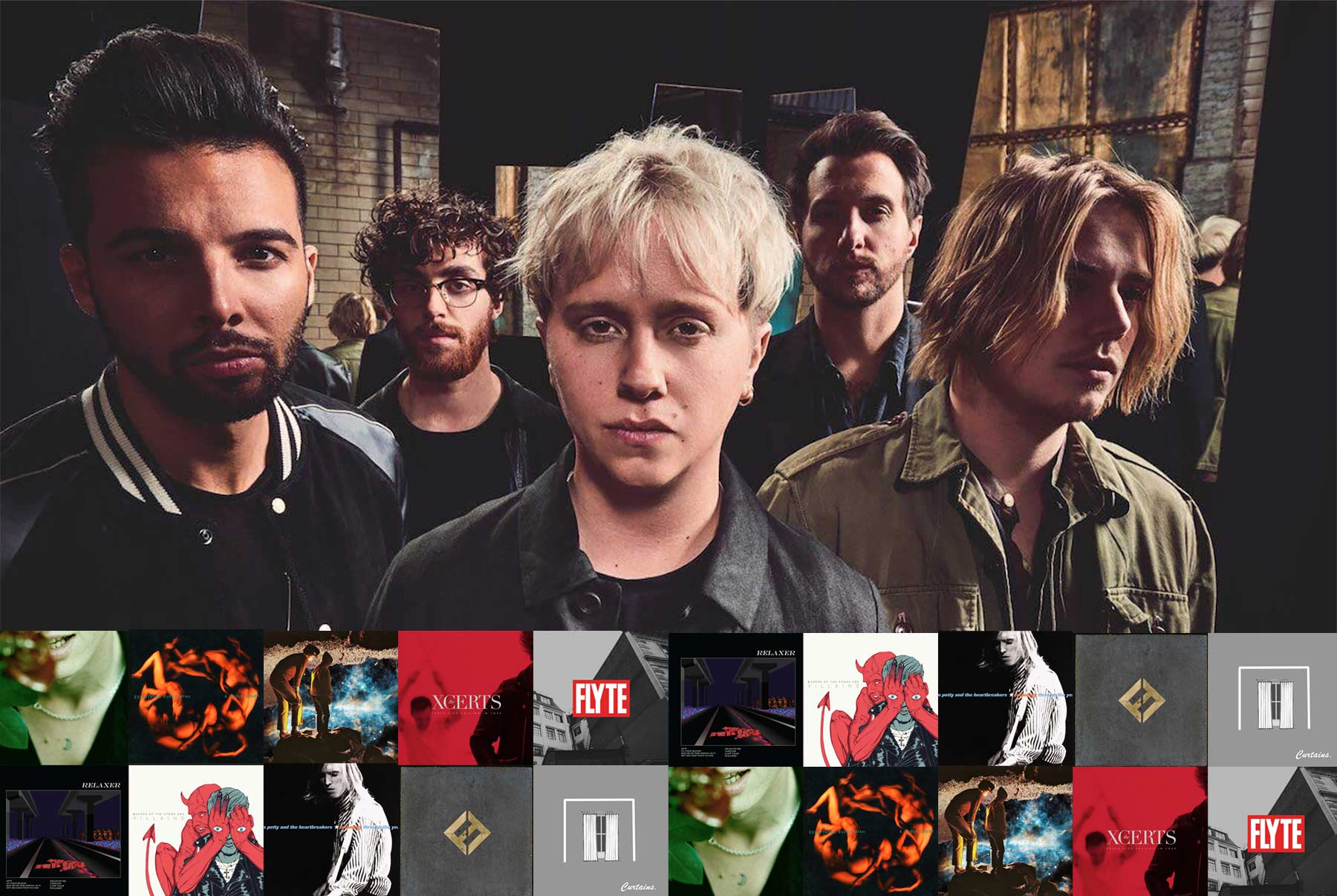 Playlist: 10 Lieblingsrocksongs von Nothing But Thieves