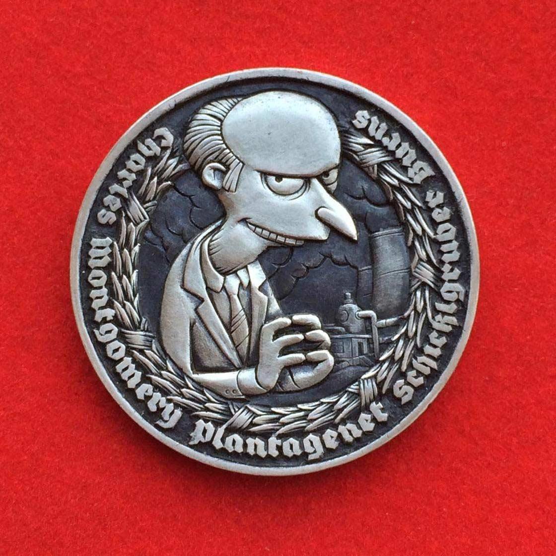 Wenn Münzen zu Popkultur-Skulpturen werden Roman-Booteen-hobo-nickel_03