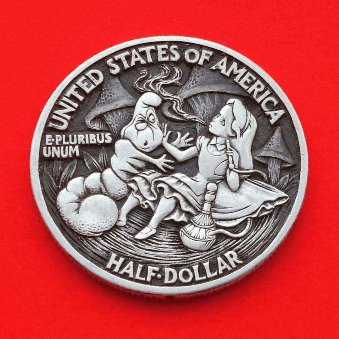 Wenn Münzen zu Popkultur-Skulpturen werden Roman-Booteen-hobo-nickel_06