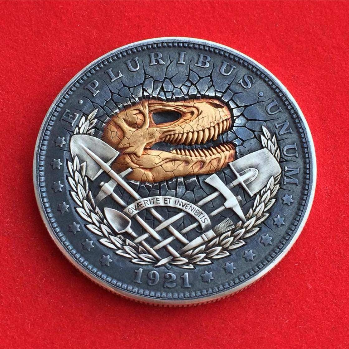 Wenn Münzen zu Popkultur-Skulpturen werden Roman-Booteen-hobo-nickel_08