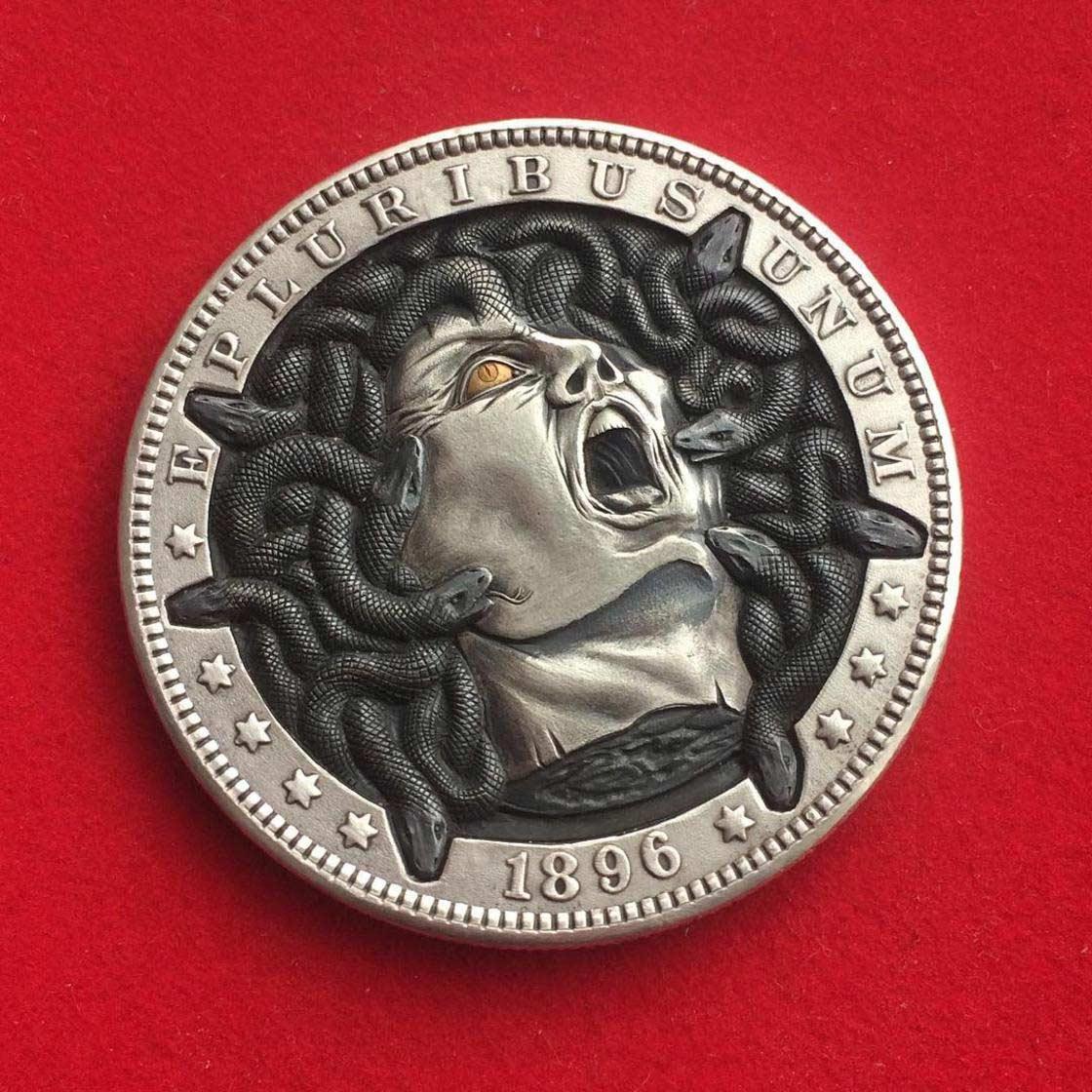 Wenn Münzen zu Popkultur-Skulpturen werden Roman-Booteen-hobo-nickel_10