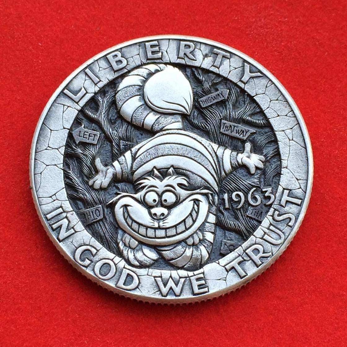 Wenn Münzen zu Popkultur-Skulpturen werden Roman-Booteen-hobo-nickel_11