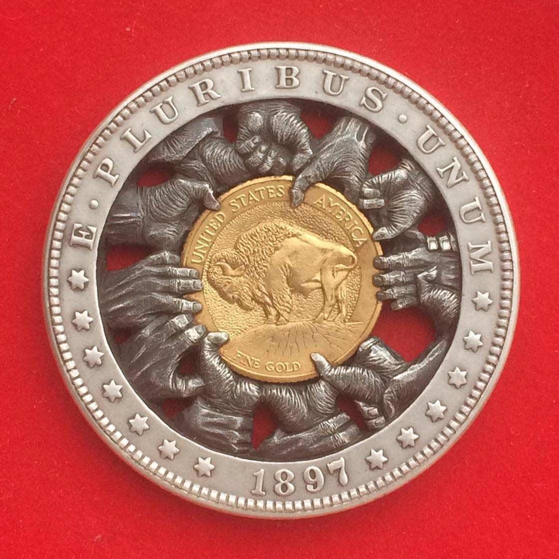 Wenn Münzen zu Popkultur-Skulpturen werden Roman-Booteen-hobo-nickel_13