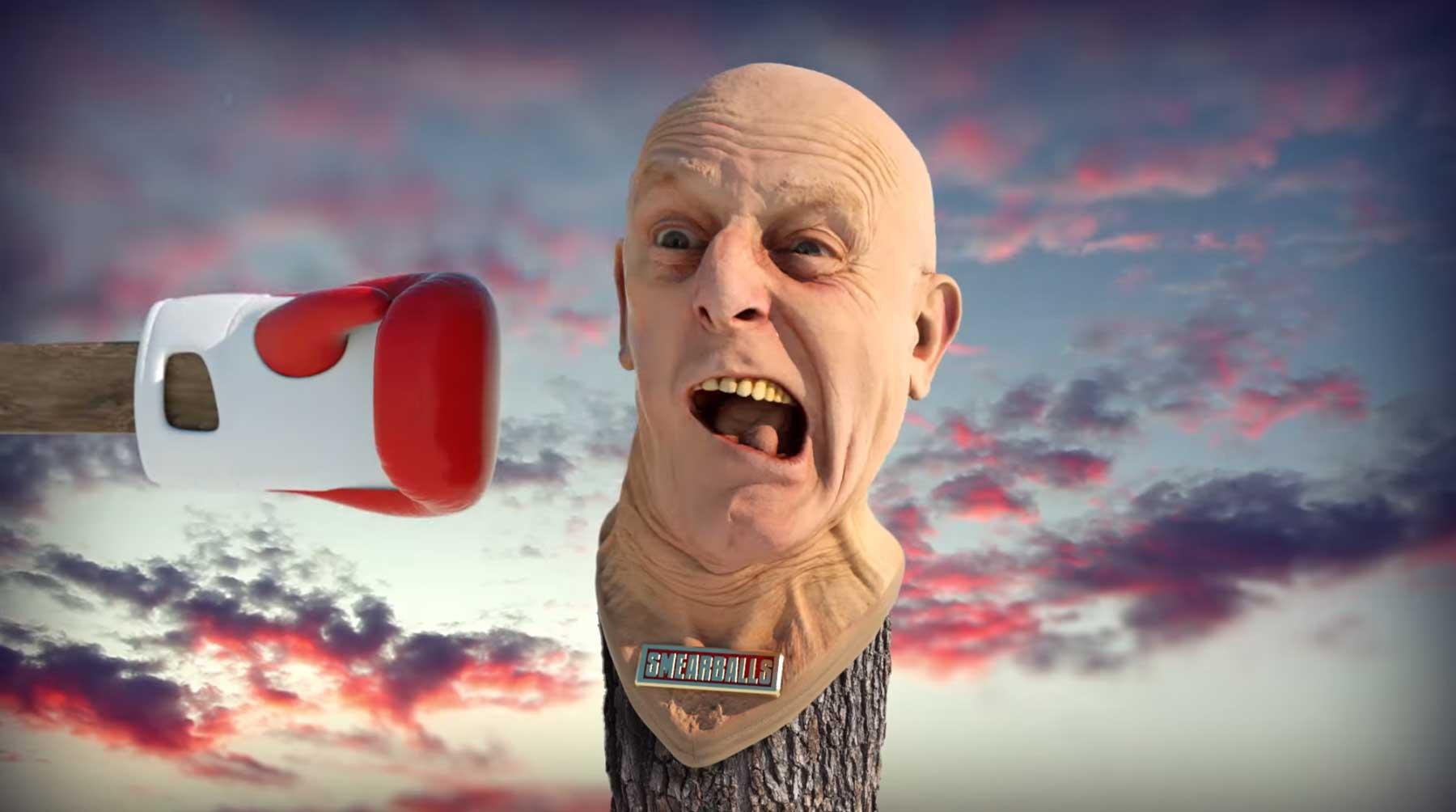 Abgefuckt-surreal-lustige WTF?!-Animation SMEARBALLS-Octane