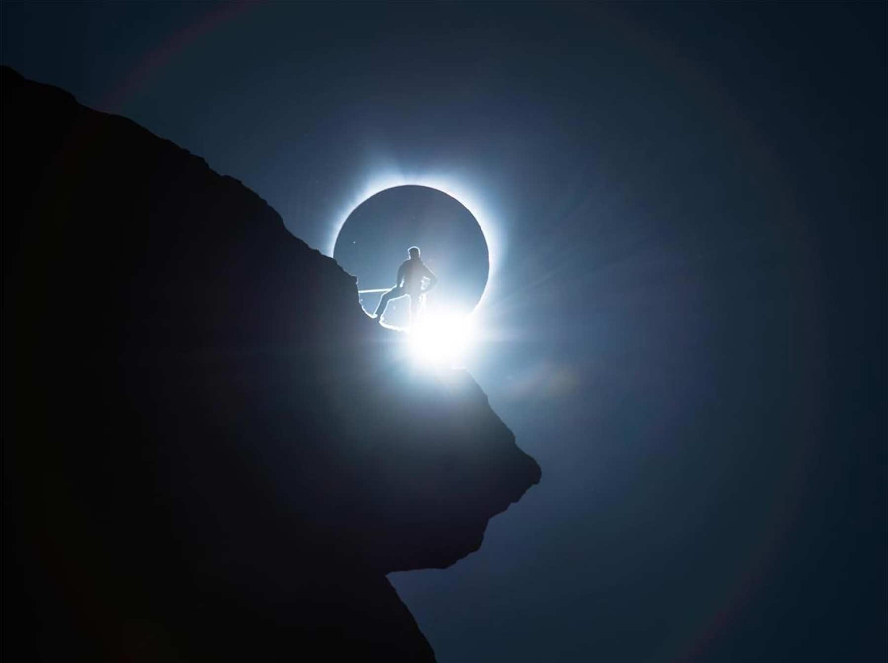 Wie Ted Hesser dieses geniale Sonnenfinsternis-Foto gemacht hat