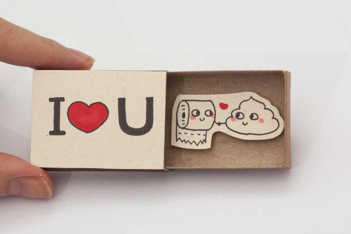 Süße Streichholzschachtel-Liebesbotschaften Trang-Hoang-streichholzbotschaften_06