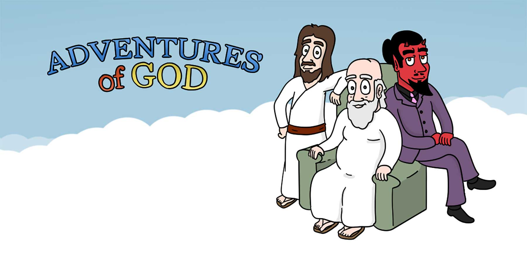 Lustiger Webcomic: Adventures of God