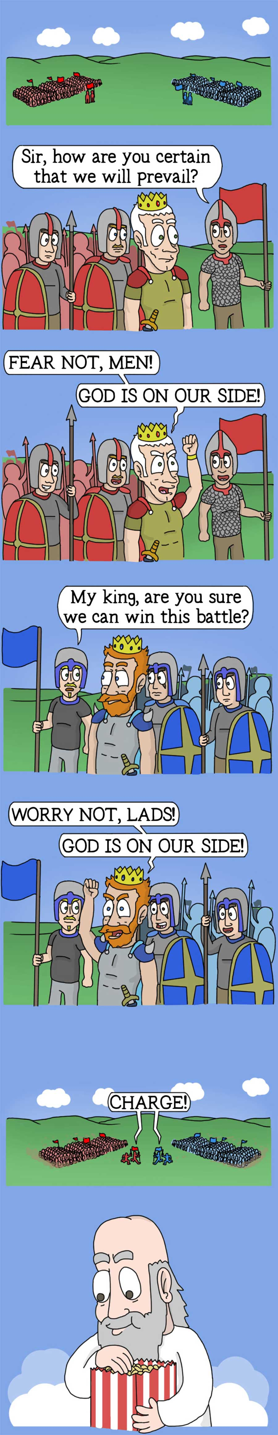 Lustiger Webcomic: Adventures of God adventures-of-god-webcomic_06