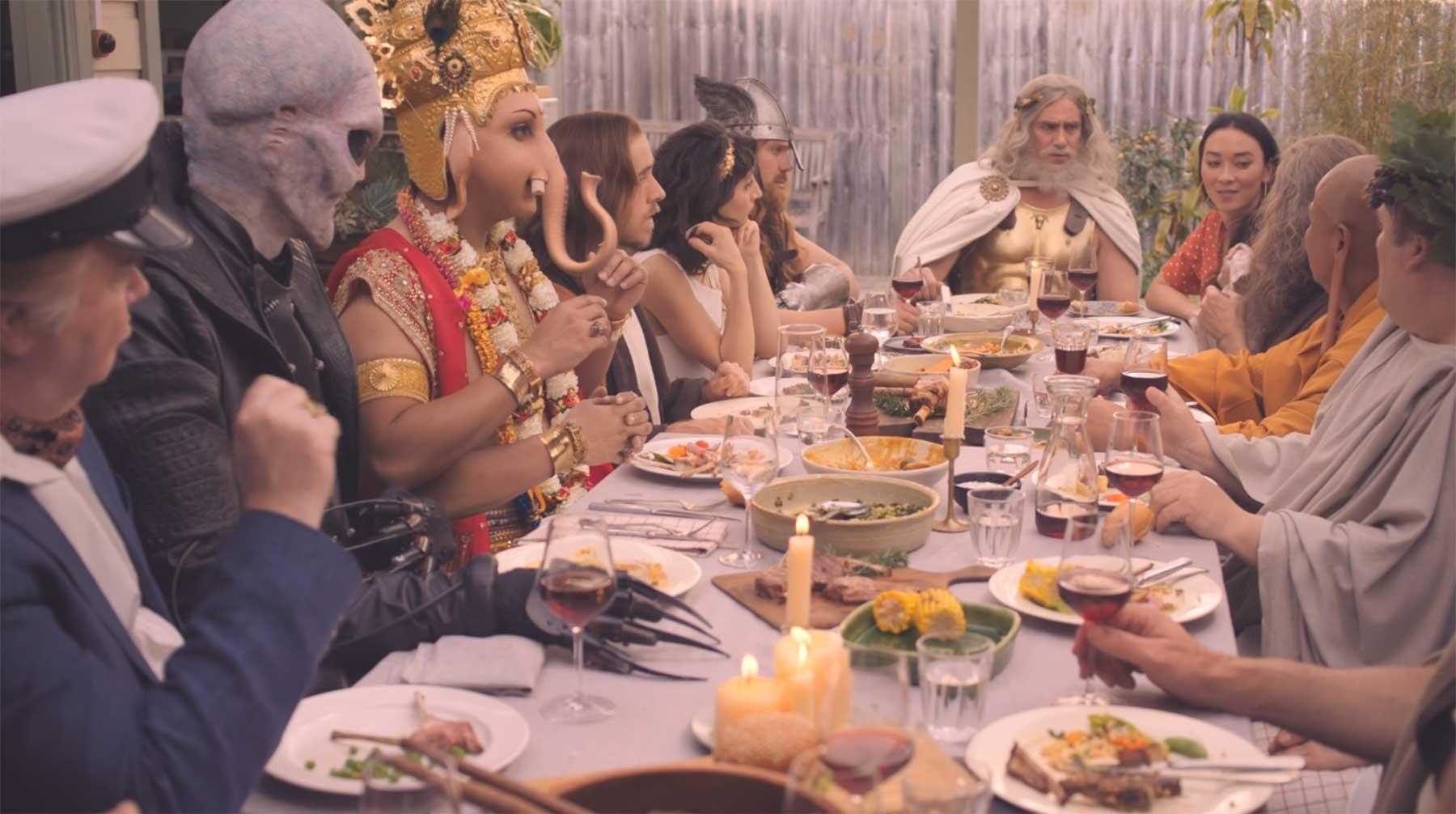Wenn alle Götter sich zum Essen treffen