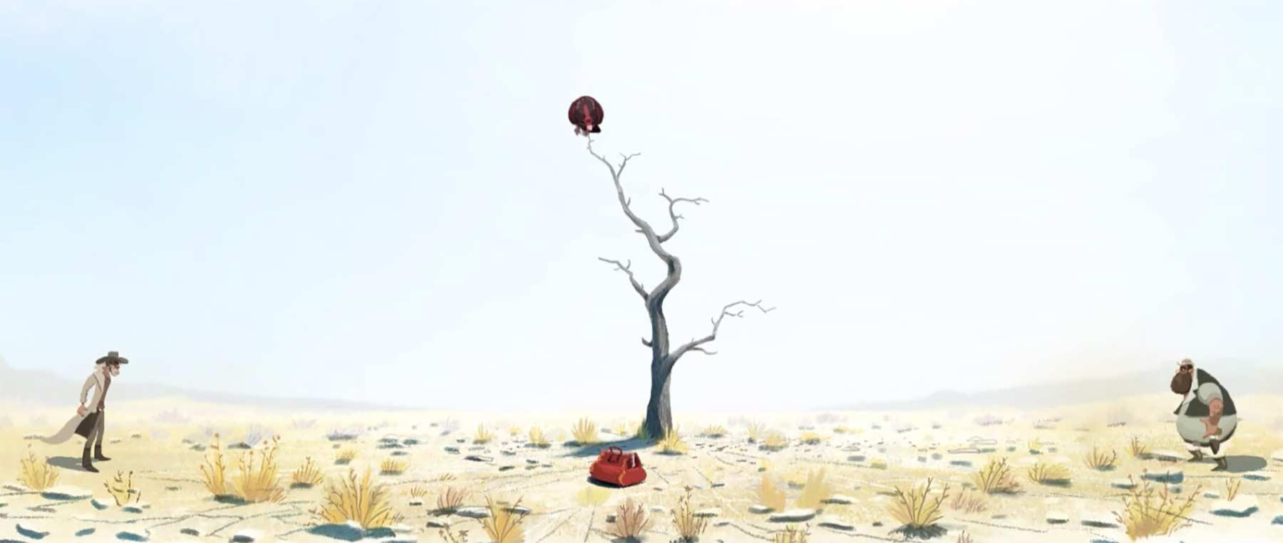 Spannendes Westernduell mit überraschendem Ausgang bird-of-prey-animierter-kurzfilm
