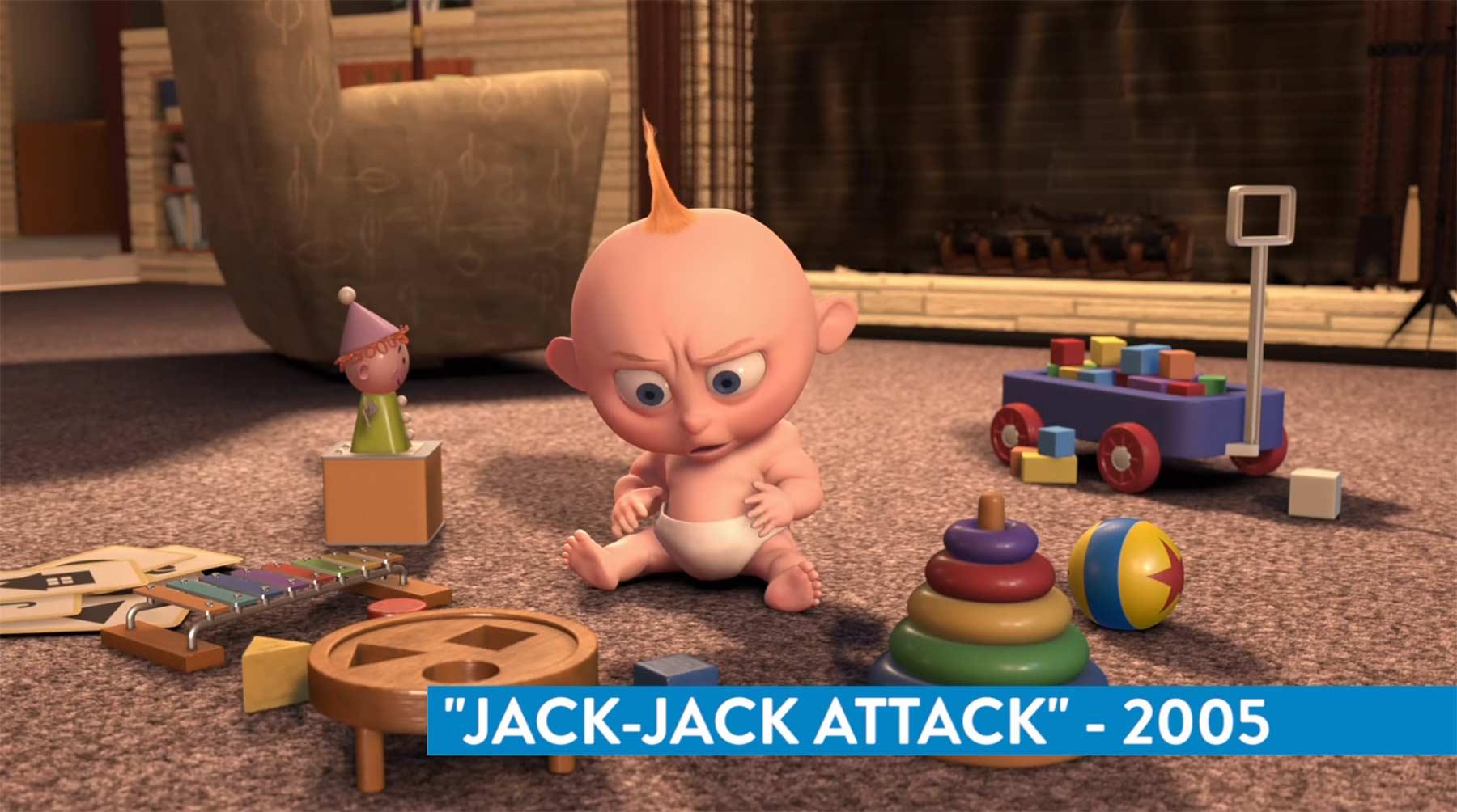 Der Luxo Ball war in so ziemlich allen Pixar-Filmen zu sehen