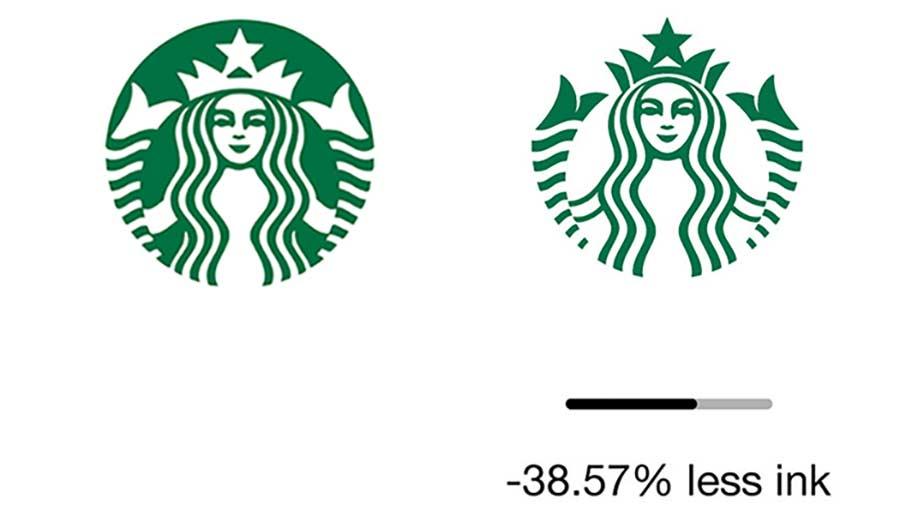 Reduzierte Markenlogos zur Einsparung von Druckertinte ecobranding-logos_07