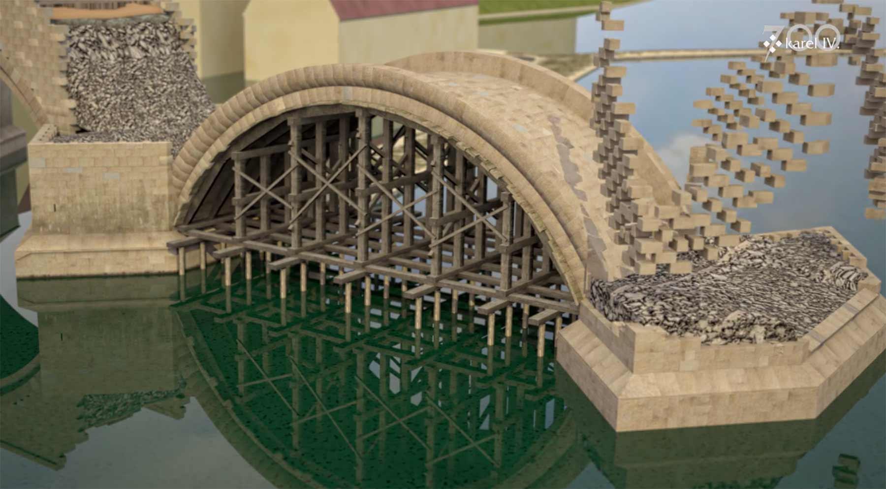 So wurde die Karlsbrücke gebaut