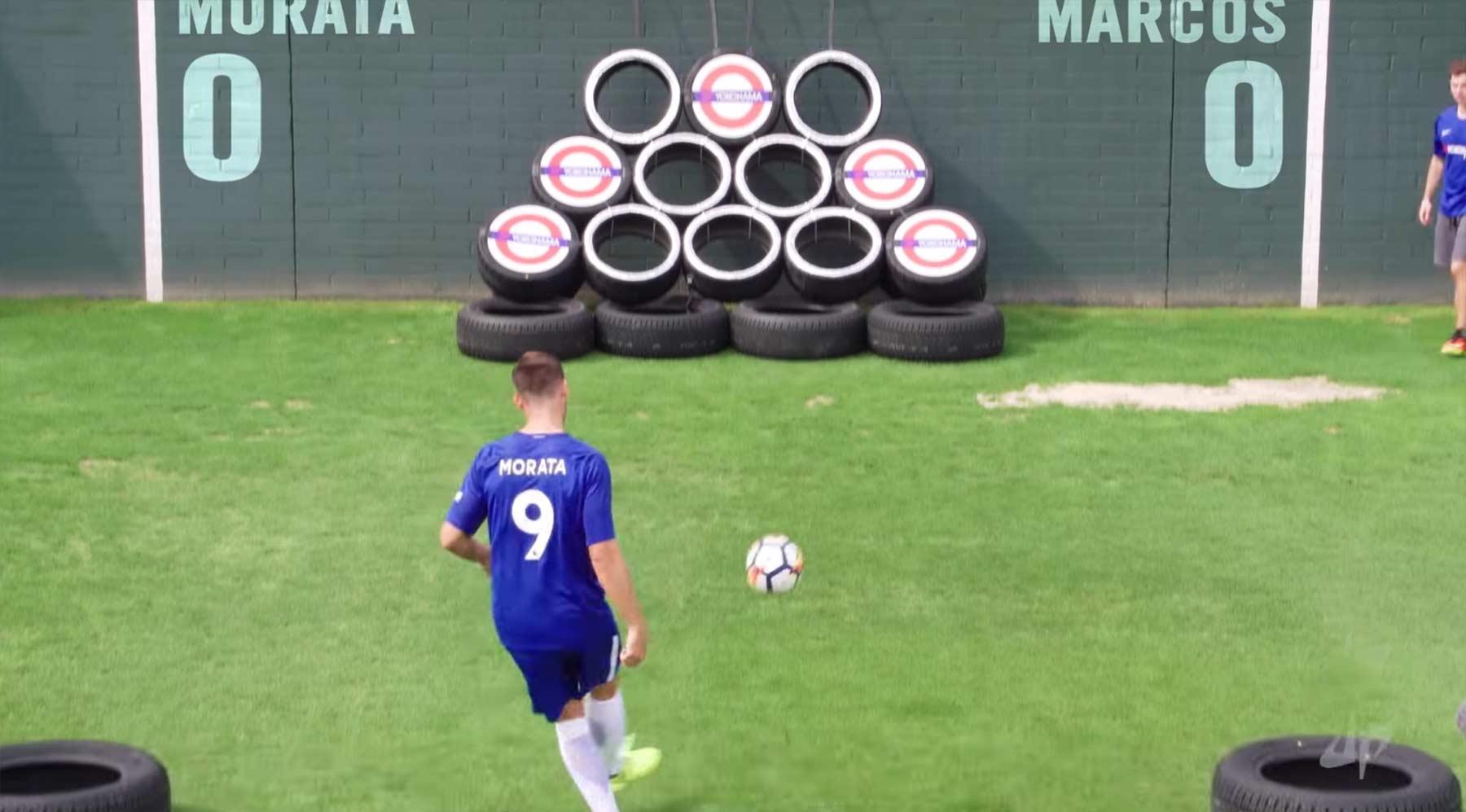 Fußball-Trickshots mit dem FC Chelsea