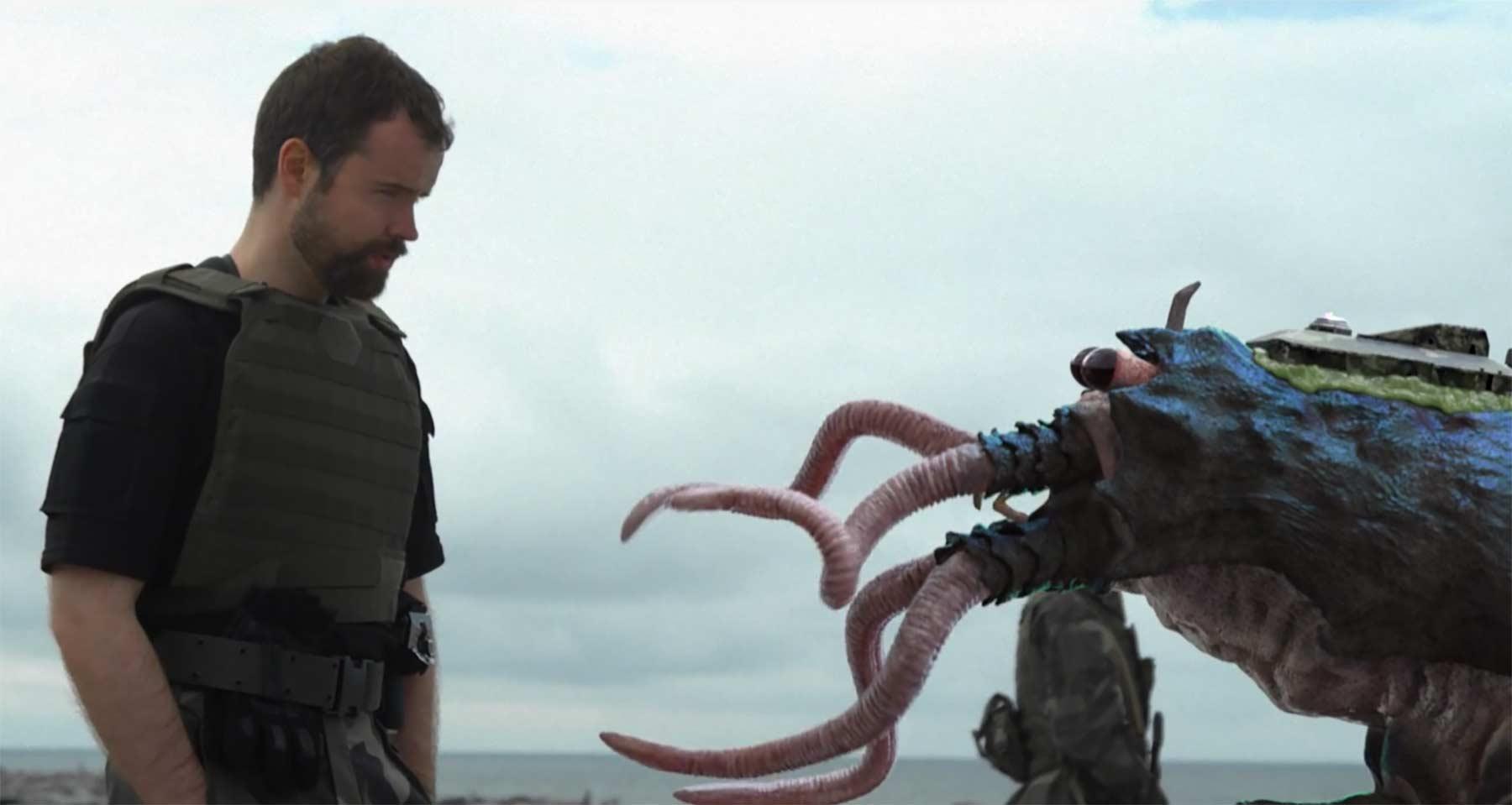 Waffenhandel mit Alien-Käfern good-business-scifi-kurzfilm