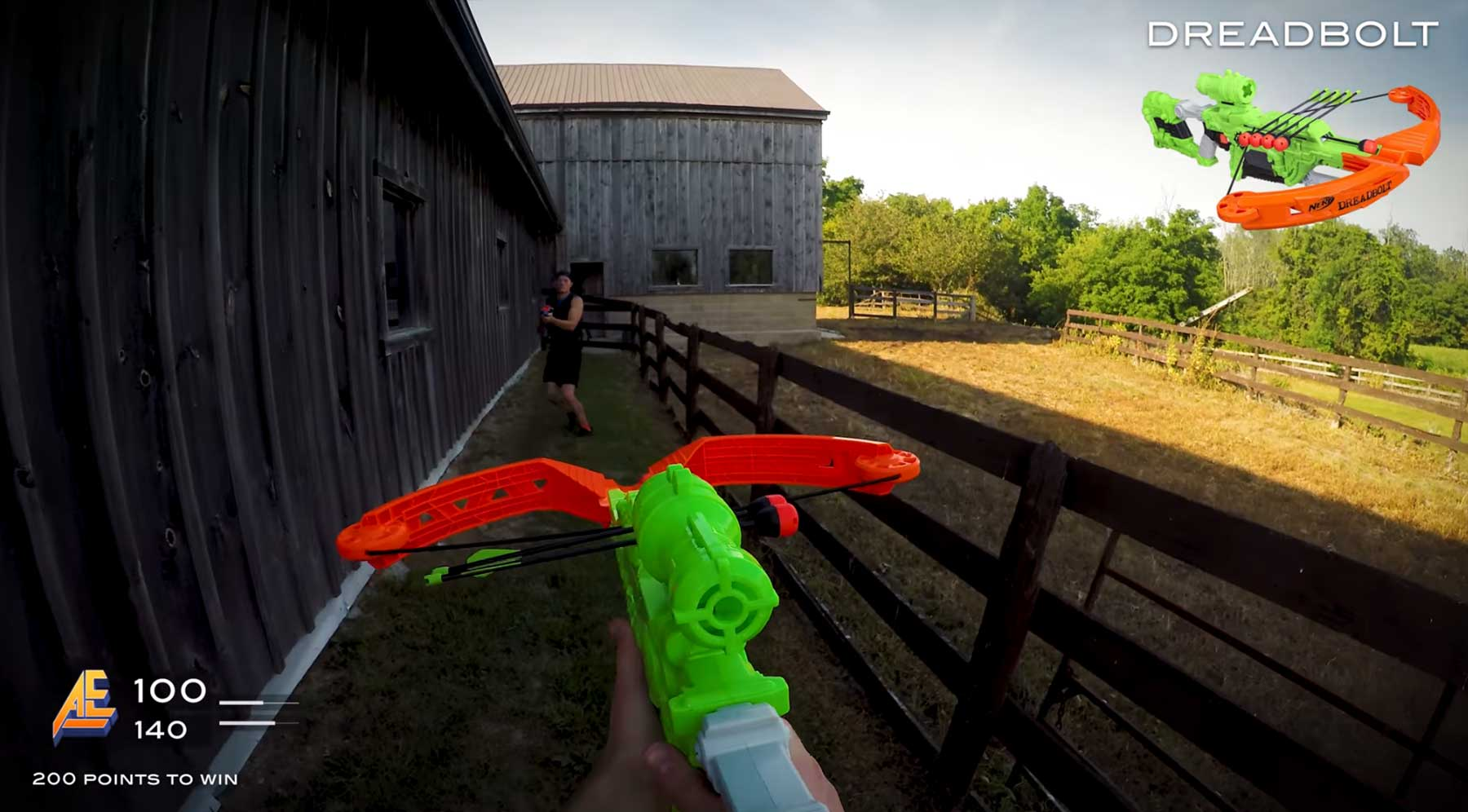 Ego-Shooter mit Nerf-Guns nerf-warfare-pov-shooter