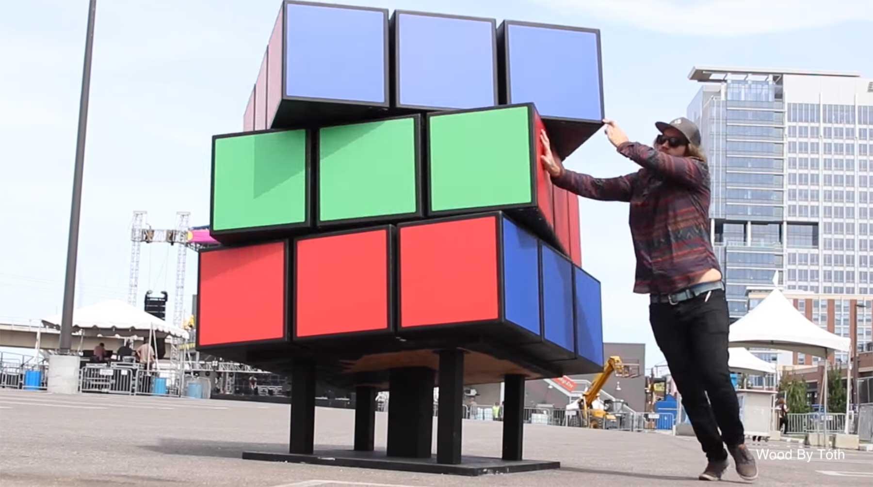 Der gigantische Zauberwürfel von Kyle Toth riesiger-zauberwuerfel