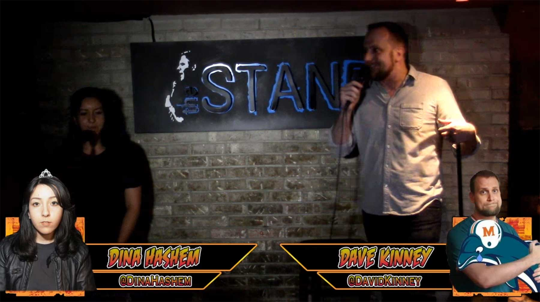 Standup Battle: schüchtern vs. Großmaul standup-smackdown