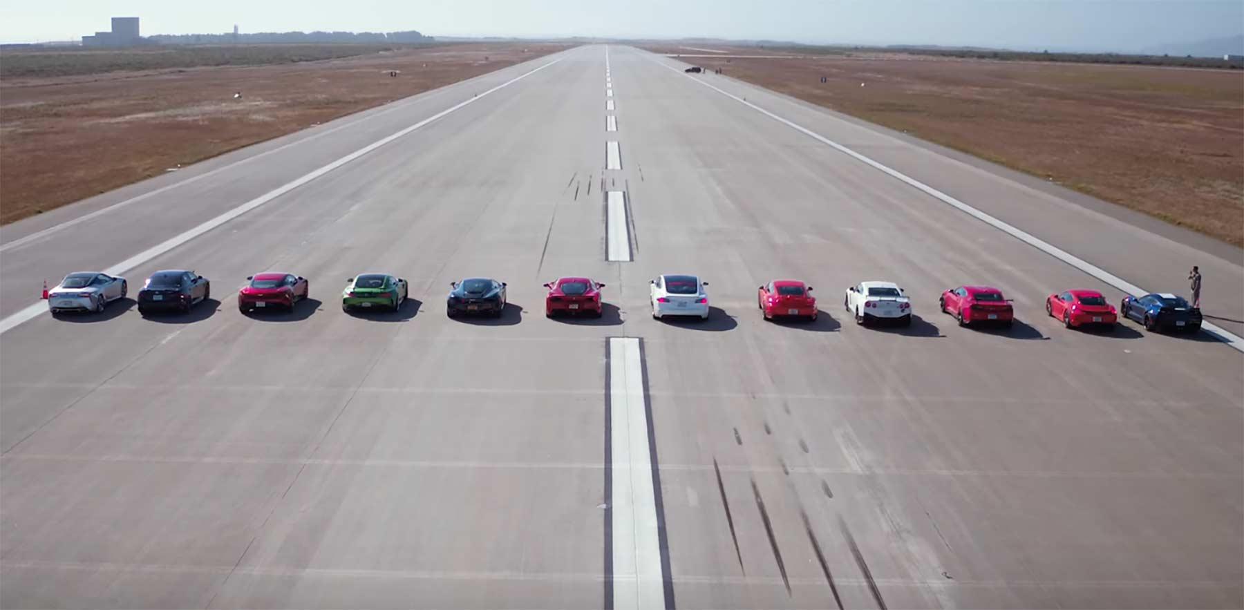 Die geilsten Sportwagen in einem Rennen worlds-greatest-drag-race-7