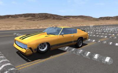 Autos, die über 100 Bremsschweller rasen