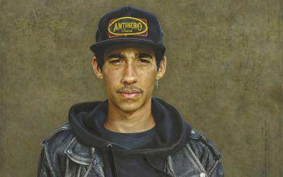 Realistisch gemalte Portraits von Alan Coulson