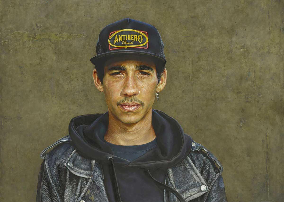Realistisch gemalte Portraits von Alan Coulson Alan-Coulson_01