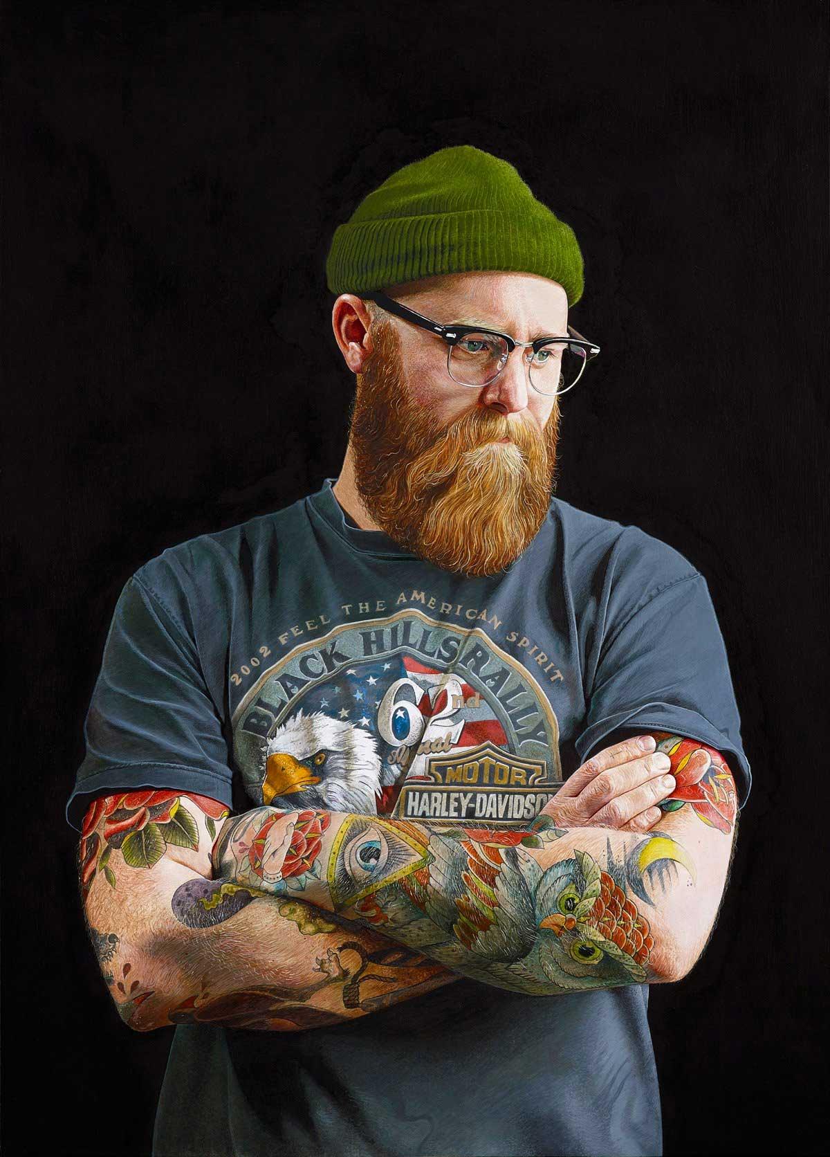 Realistisch gemalte Portraits von Alan Coulson Alan-Coulson_04