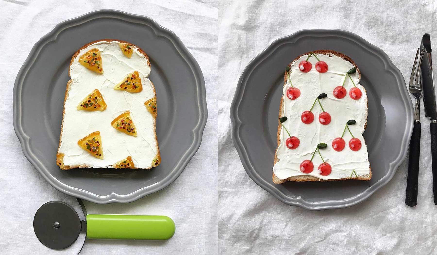 Trend aus Japan: Gemusterte Toastscheiben