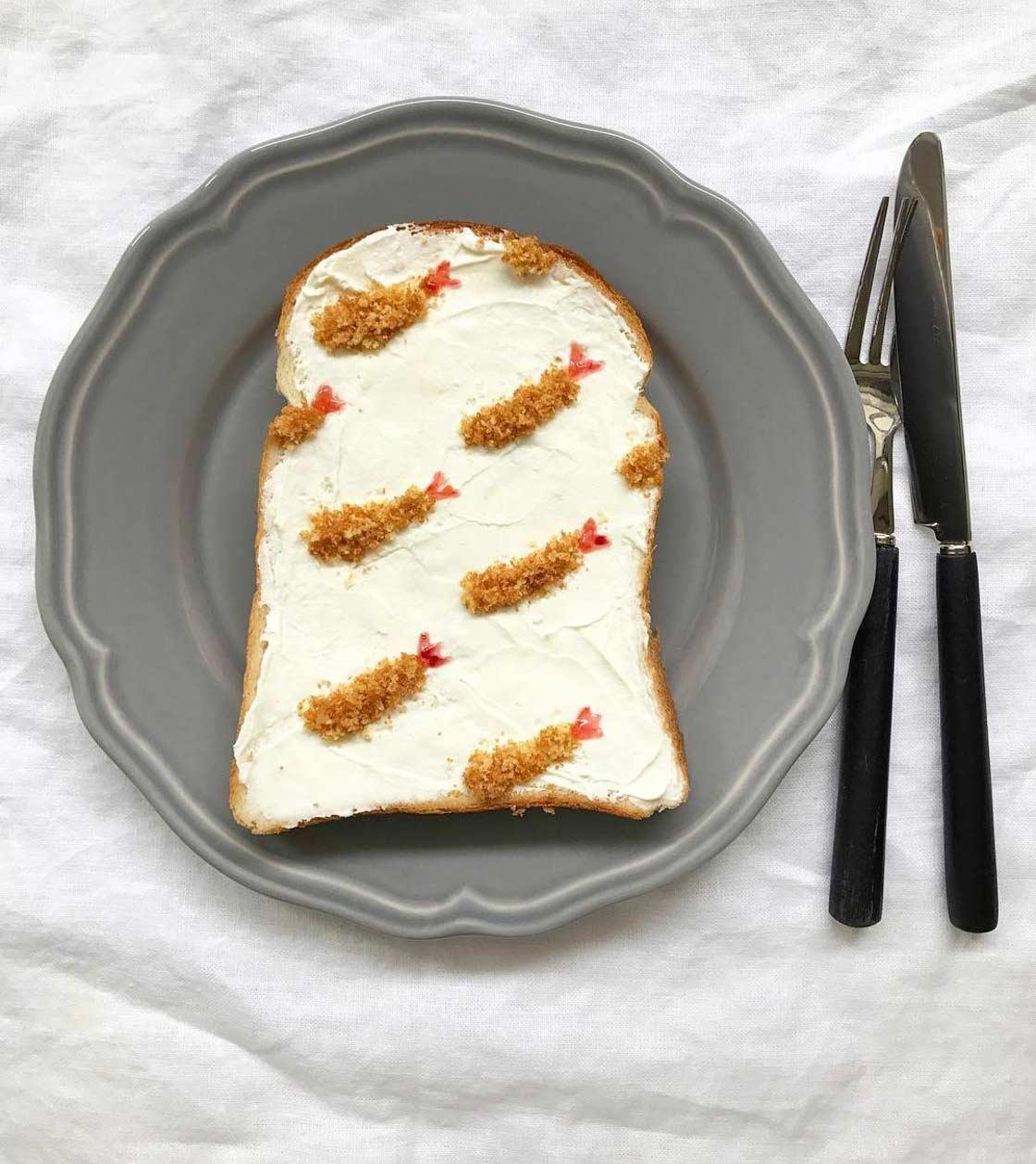 Trend aus Japan: Gemusterte Toastscheiben Eiko-Mori-Toast-art-foodporn_03