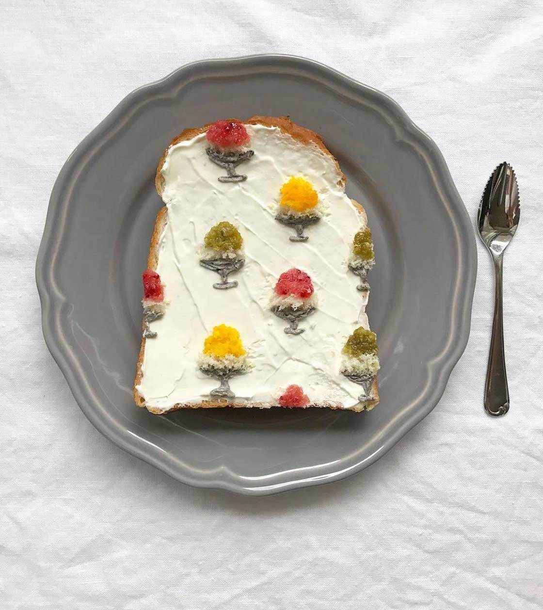 Trend aus Japan: Gemusterte Toastscheiben Eiko-Mori-Toast-art-foodporn_06